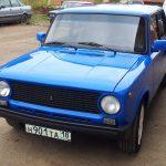 ВАЗ 2101 синий тюнингованный