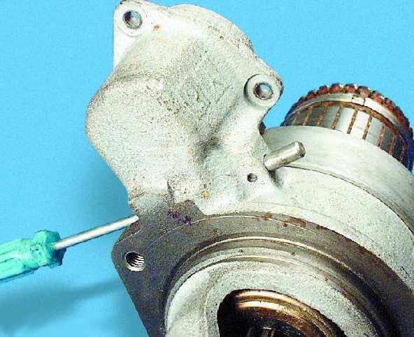 Ось рычага привода стартера ВАЗ 2107