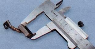 Измерение высоты щеток стартера ВАЗ 2106