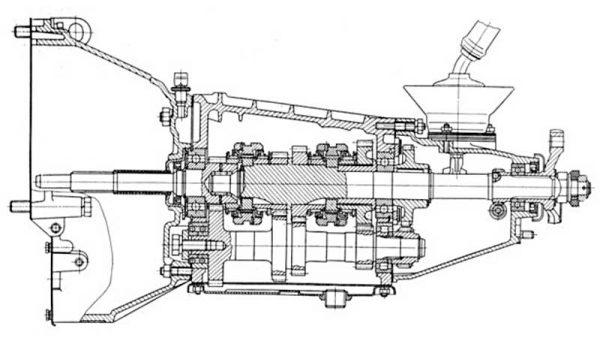 МКПП ВАЗ 2106 в разрезе