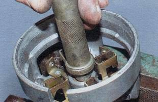 Оправка для снятия и установки втулок стартера