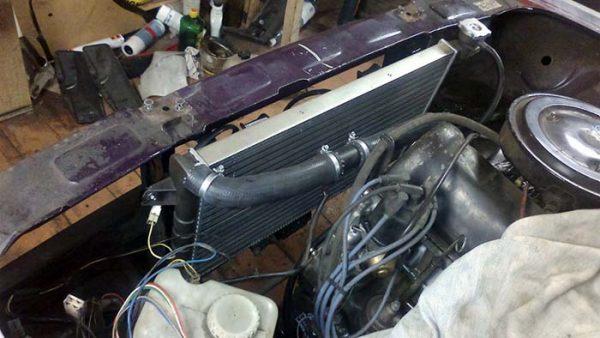 Радиатор ВАЗ 2110 на «шестёрку»