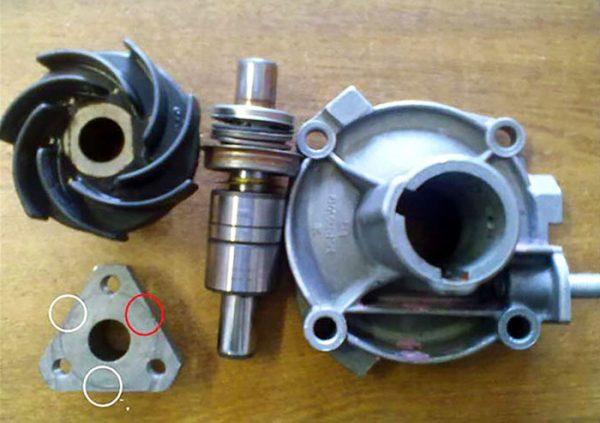 Ремкомплект насоса охлаждающей жидкости для ВАЗ 2106