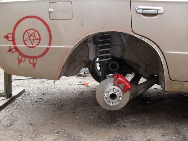 Задние дисковые тормоза на «копейке»