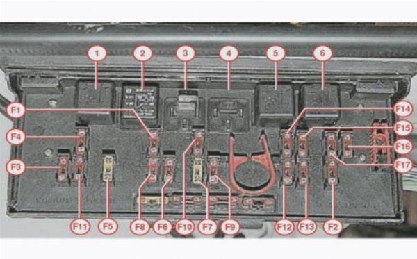 Блок предохранителей и реле ВАЗ-2107