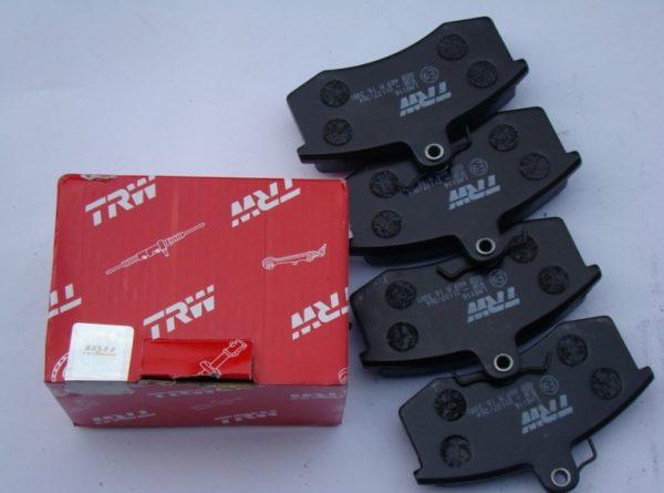 Передние тормозные колодки ВАЗ 2107