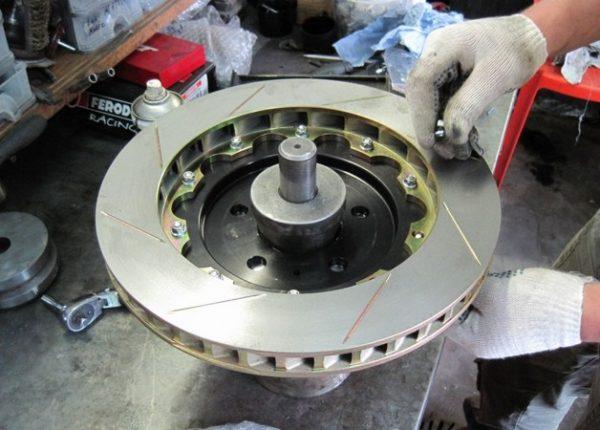 Составной тормозной диск