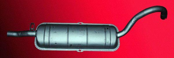 Стоковый глушитель на ВАЗ 2101—2107