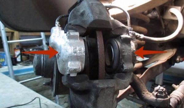 Тормозной суппорт ВАЗ 2107