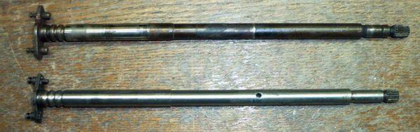 Вал распределителя зажигания ВАЗ 2101—07