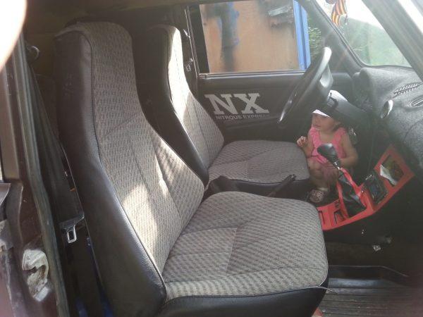 Стандартные сиденья ВАЗ 2107