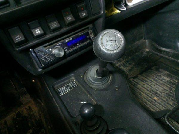 Рычаг КПП на ВАЗ 2107