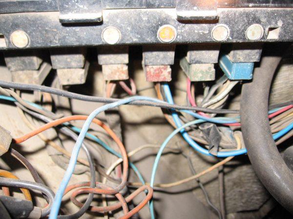 Разъёмы с проводами