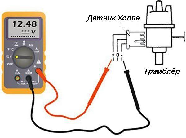 Как проверить коммутатор ВАЗ 2106