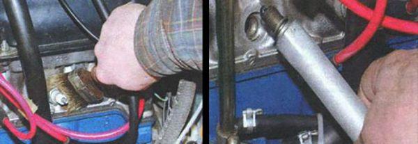 Как выкрутить свечи из цилиндров двигателя «Жигулей»