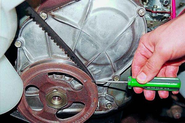 Как выставить метки на шкиве коленчатого вала ВАЗ 2101—2107