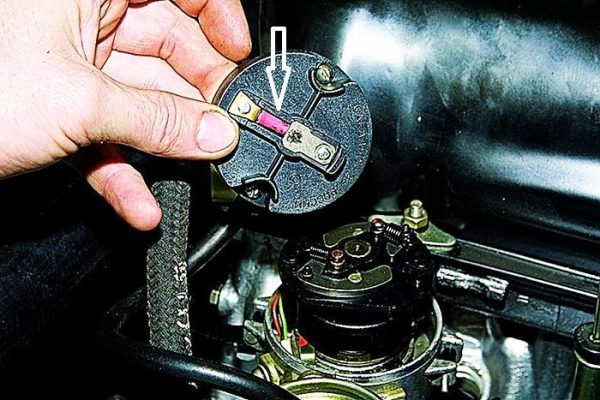 Перегорел резистор в трамблёре ВАЗ 2101—07