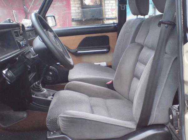 Сиденья Peugeot на ВАЗ 2107