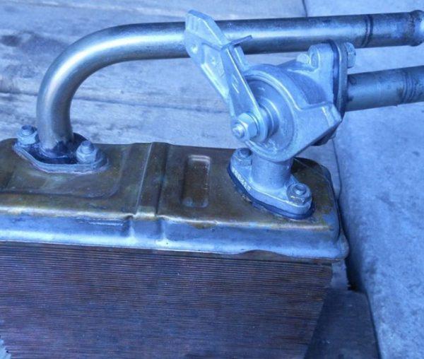 Кран на радиаторе