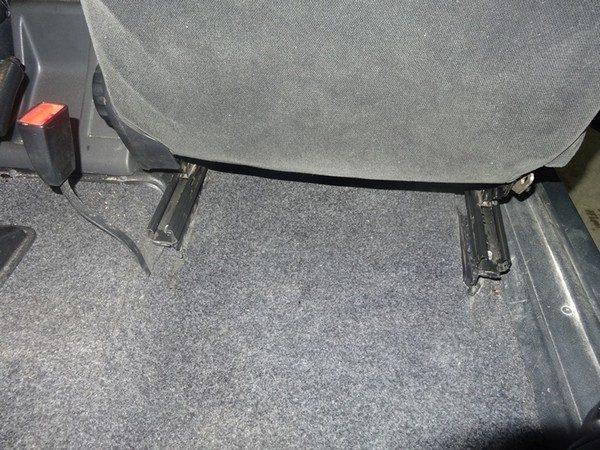 Установка нового сиденья