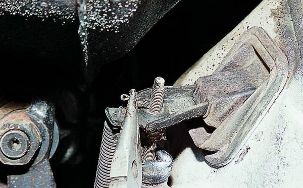 Извлечение шплинта цилиндра