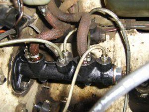 Главный тормозной цилиндр на ВАЗ 2101