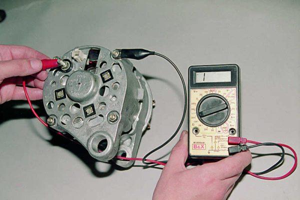 Комплексная проверка обмоток и выпрямителя на пробой
