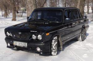 Тюнингованный бампер ВАЗ 2106