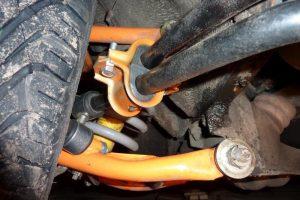 Ходовая часть ВАЗ 2107 (передняя подвеска)