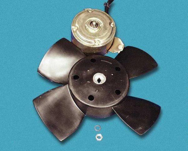 Конструкция вентилятора