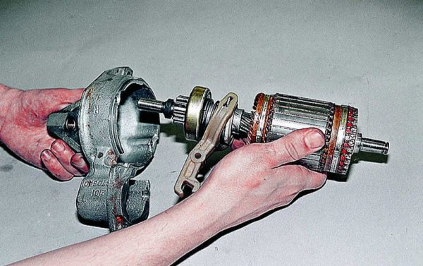 Демонтаж ротора
