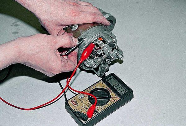 Проверка обмоток статора