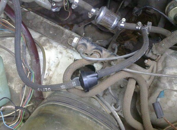 Клапан обратного слива на ВАЗ 2107