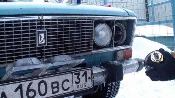 Замена лампы фары ВАЗ 2106