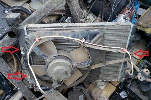 Как снимается электровентилятор на «Жигулях»