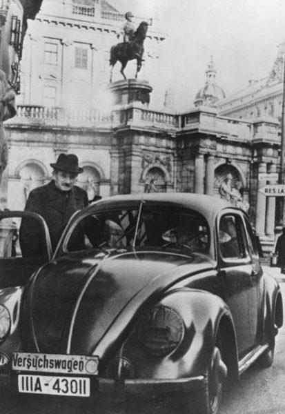 Фердинанд Порше и автомобиль KdF