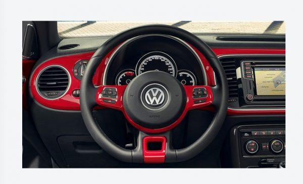 Вставки на руле VW Beetle 2017