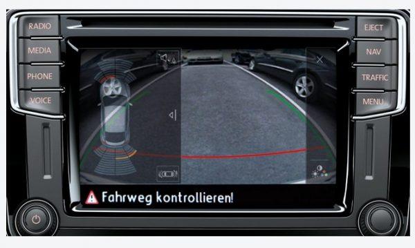 Система контроля слепых зон на VW Beetle 2017