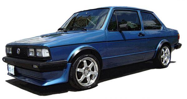 Спортивная версия Volkswagen Jetta MK2