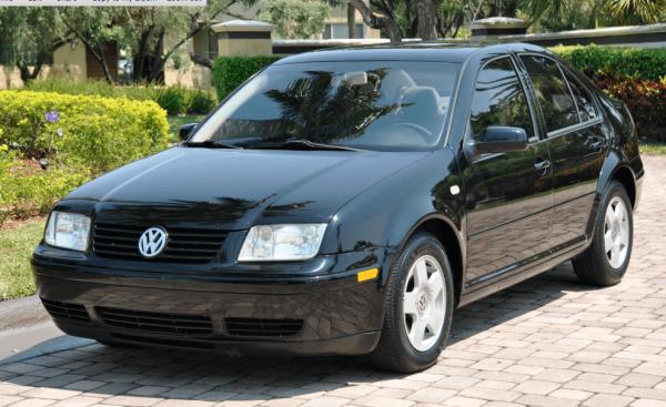 Экстерьер Volkswagen Jetta МК4