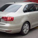 Вид сзади на Volkswagen Jetta МК6