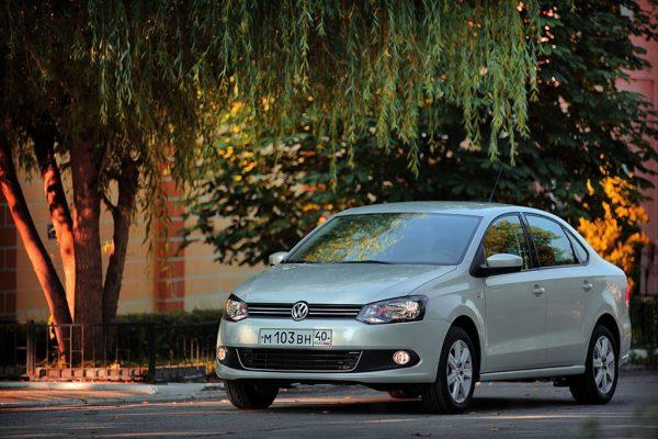 Volkswagen Polo Sedan 2010 года
