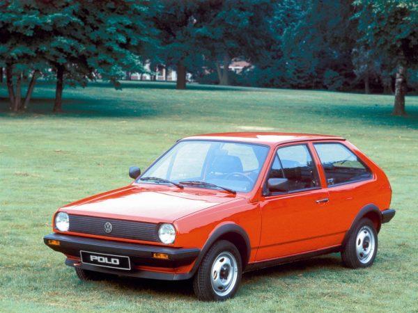VW Polo Coupe 1982 года