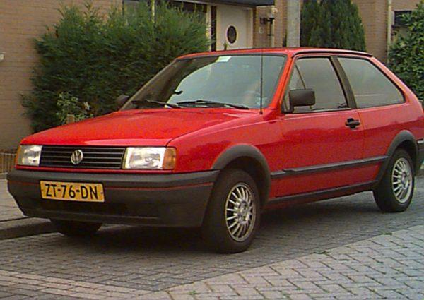 VW Polo Fox 1984 года