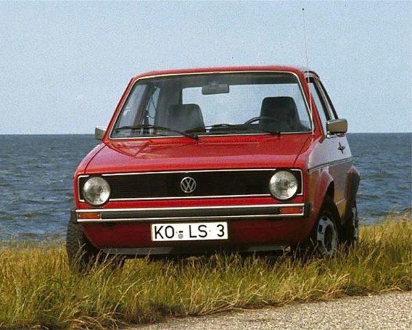 Популярная версия VW Golf