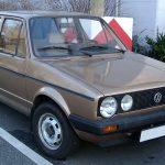 Модификация Golf первого поколения