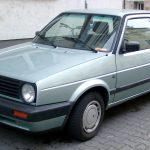 Трёхдверный VW Golf II