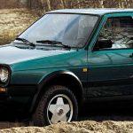 Полноприводный VW Golf II