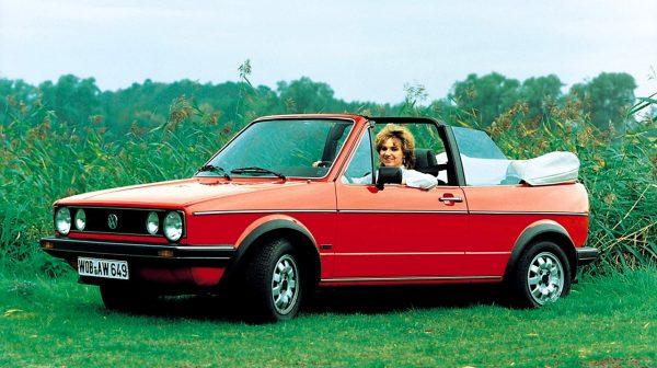 Golf в кузове «кабриолет»