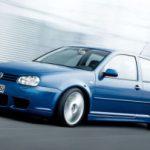 Плавные черты VW Golf IV